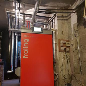 Fröling S4 60kW Install