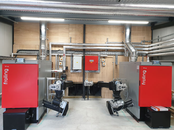 Fröling T4 150kW Biomass Engineering SSRH