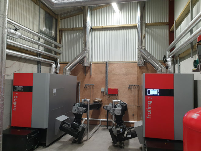 Fröling T4e 200kW Biomass Engineering SSRH